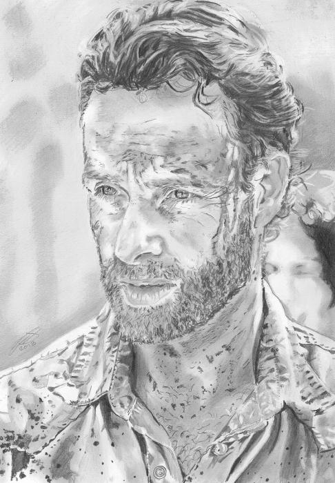Andrew Lincoln by jonesy12